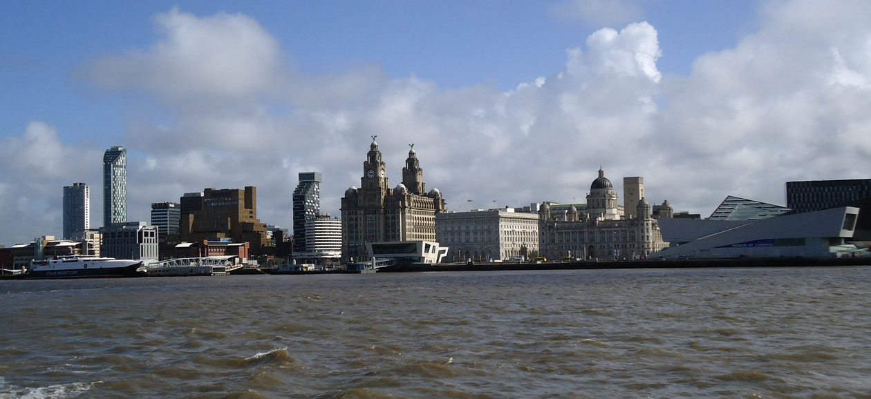 View across the Mersey